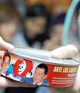 Las latas de Chávez